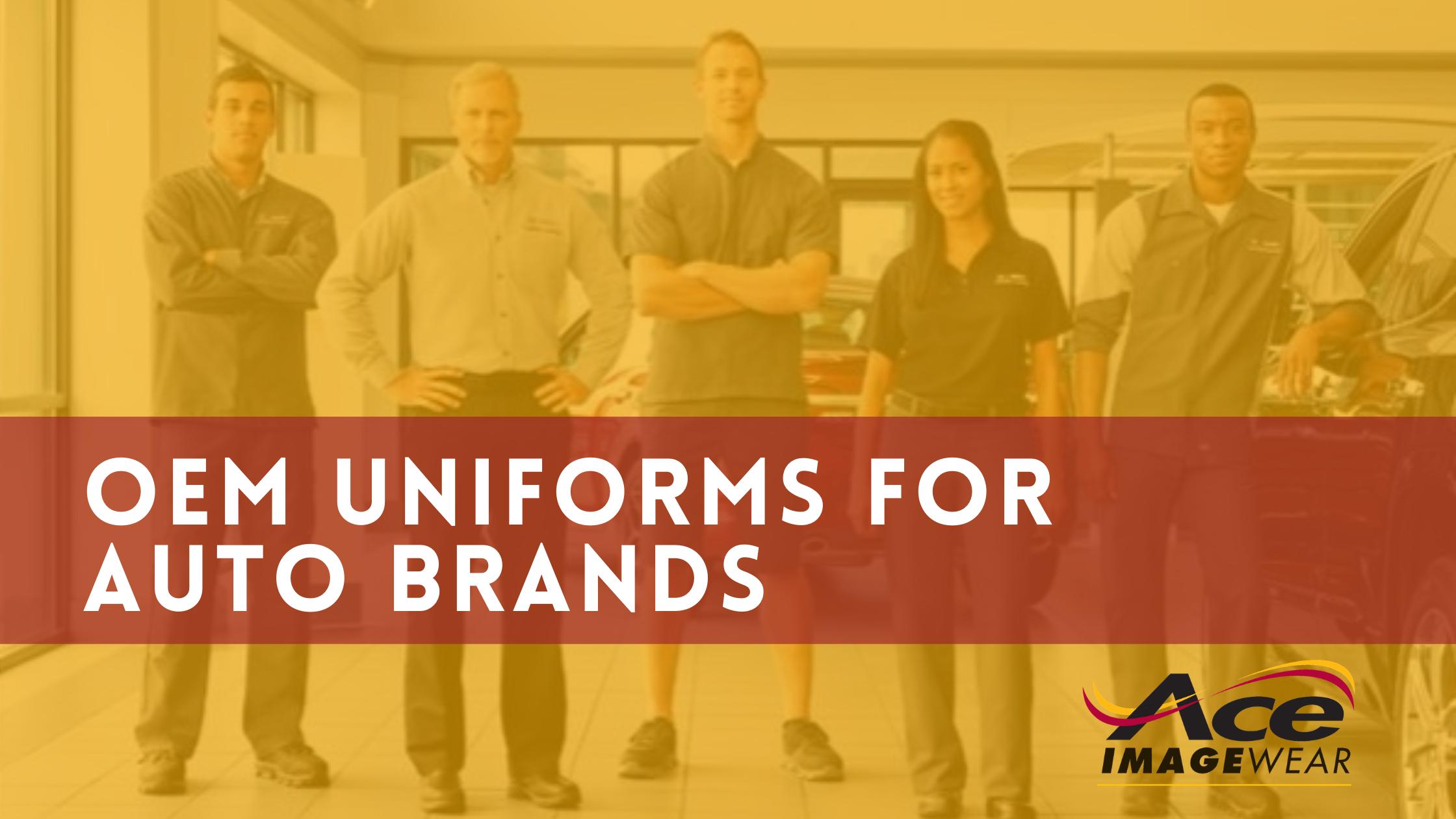 OEM Uniforms for Auto Brands